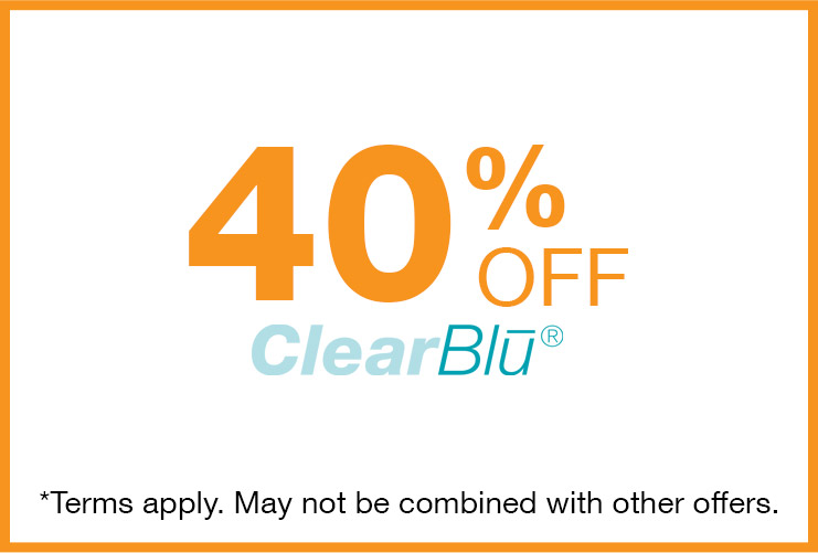 ZeddWell™ ClearBlu Coupon